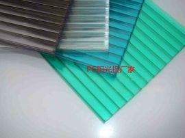 朴丰阳光板,耐力板,6mm草绿阳光板,四层阳光板