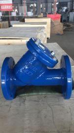 纵横GL41H DN250美标Y型过滤器