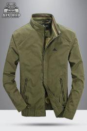新款春秋装外套男式水洗纯棉夹克 大码男军旅风秋冬装外套