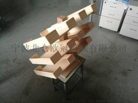 木制文件架 文件盒 100%松木制品
