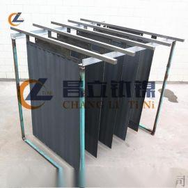 酸性蚀刻液提铜用钛阳极 酸性蚀刻液再生铜钛电极厂家