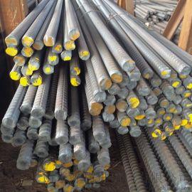 热轧带肋螺纹钢筋/精轧螺纹钢现货/免费定尺下料