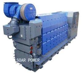 曼Man船用发电机组(428KW~8,730KW)