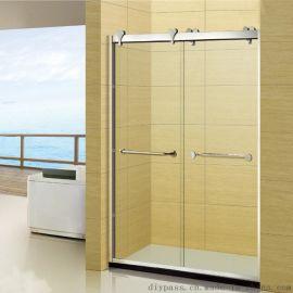 鼎派卫浴 DIYPASS BP-0208 304不锈钢双移门豪华淋浴屏风