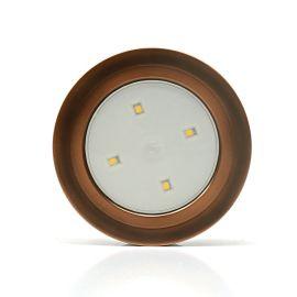 倒計時LED拍拍燈車內裝飾燈後備箱觸摸照明閱讀電池汽車載小夜燈