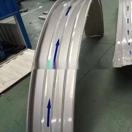 上海铝镁锰直立锁边板 直立锁缝边铝镁锰合金屋面板