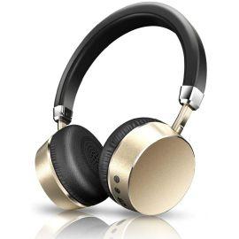 魅动E6无线耳机 蓝牙头戴式电脑耳麦运动游戏音乐立体声 银色