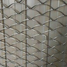 氟碳喷涂铝拉网烤漆铝板装饰网幕墙氧化铝板网片