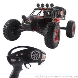 FY1: 10大型四驱高速车 2.4G遥控越野车沙漠卡 电动竞技高速车 枪式遥控器 攀爬模型车