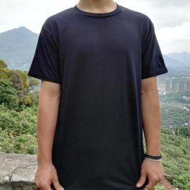 2017纯棉圆领男女T恤短袖衬衫