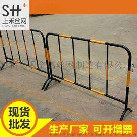 大量现货铁马护栏市政道路临时施工隔断马路围栏可移动隔离防护栏