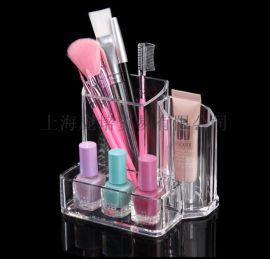 亞馬遜熱銷化妝盒首飾盒 化妝收納盒護膚品收納 透明亞克力儲物盒