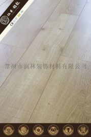 智能圆弧扣商用强化木地板