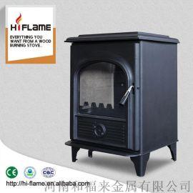 Hiflame AL905 EPA室内独立的木材燃烧炉设计生态火焰壁炉
