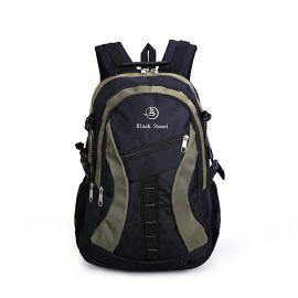 韩版新款大容量男士旅行双肩背包 休闲透气学生电脑书包