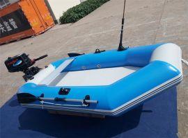 橡皮艇青島海之藍新品上市橡皮艇充氣艇釣魚船