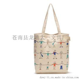 彩色满版印刷帆布袋 购物袋手提袋背包厂家直销定做