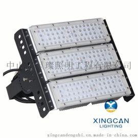 新款LED隧道投光燈 戶外廣場碼頭防水隧道燈 100W可調角度隧道模組燈
