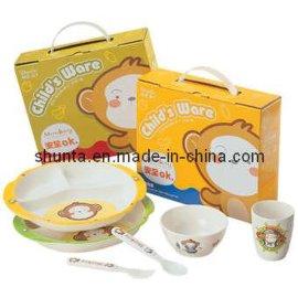 密胺儿童餐具环保礼盒组G1
