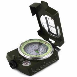 美式多功能专业指南针 户外用品登山装备车载指北针旅行罗盘夜光