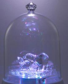 宝力晶旋转灯LED新奇特礼品