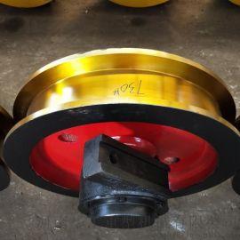 800套装车轮组 角箱车轮组 LD行走车轮组 整体淬火调质轮