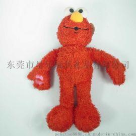东莞毛绒玩具厂家定制艾摩外贸公仔logo来图来样定制