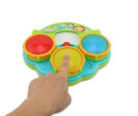 Bright Starts幼儿音乐发光创意电子玩具鼓儿童玩具