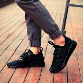 2016新款韩版NMD爆米花运动鞋男鞋飞织休闲跑步鞋轻便潮鞋透气鞋