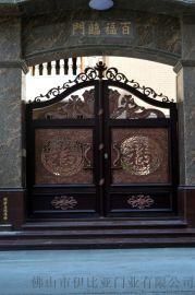 伊比亚A22铝艺别墅庭院大门
