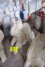砂岩大象雕塑 砂岩喷水大象雕塑定做 园林砂岩大象喷水雕塑摆件