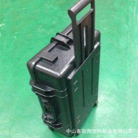 JX308 670*435*205mm 厂家直销 带拉杆行李箱式abs塑料重装箱 手提防护工具箱