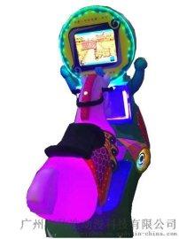 兒童搖擺機 3 D賽馬(豪華版)投幣兒童搖擺機