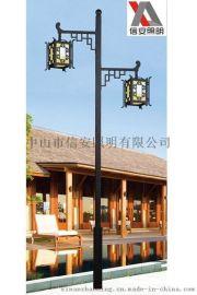 厂家直销单头、双头LED节能民族风特色庭院灯