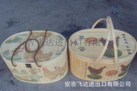 FD-1610285礼品篮,竹片编织篮
