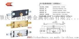 厂家直销 雅诗特 YST-D10 叶片匙卷闸底锁(全铜锁头)