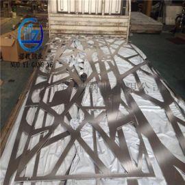 拉丝激光不锈钢屏风 镀色钛金不锈钢屏风定做