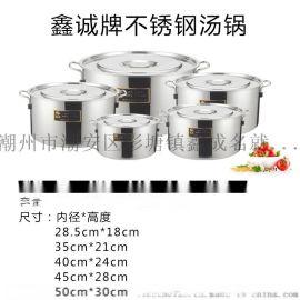 不鏽鋼湯鍋 不鏽鋼雙耳湯鍋 加深湯鍋不鏽鋼蓋