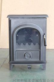HiflameAL907新款风格的钢板燃木室内取暖器壁炉