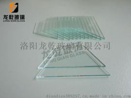 浮法钠钙超薄小片异形来图定制三角形梯形