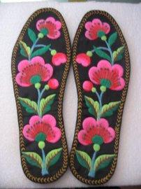 纯手工刺绣鞋垫