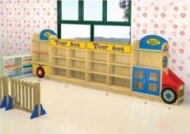 幼儿玩具柜,巴士造型玩具柜