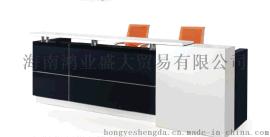简洁办公家具前台接待台办公台办公桌