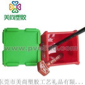 PVC软胶广告笔筒 创意笔筒