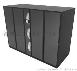 雷迪司冷通道单排机柜微模块数据中心机房解决方案