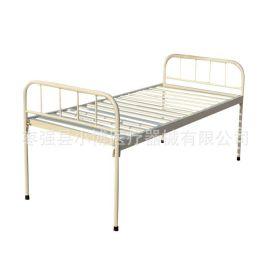 实木平板床 多功能平板床 ,铁床头陪护平板床