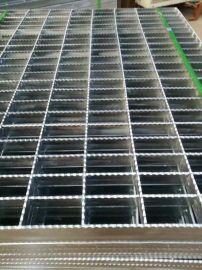 供应新疆热电厂钢格板 热镀锌格栅板 平台钢格板