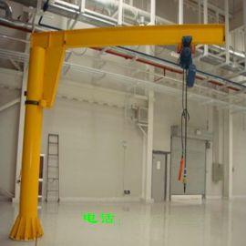 悬臂吊生产厂家 BZD0.25悬臂吊价格 定柱式悬臂吊 起升高度3m 起重量0.25t