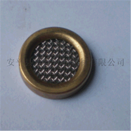 长期供应包边滤片 铜滤片 挖掘机滤片