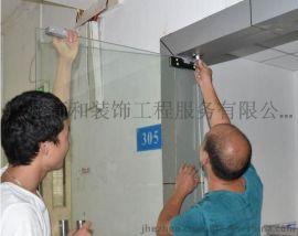 广州办公室玻璃门维修